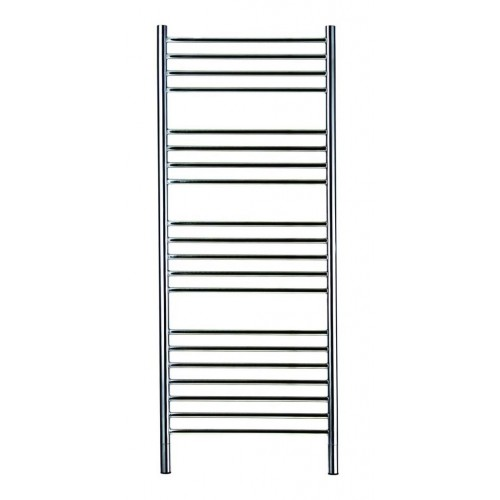 Jeeves Straight Round Ladder Heated Towel Rail