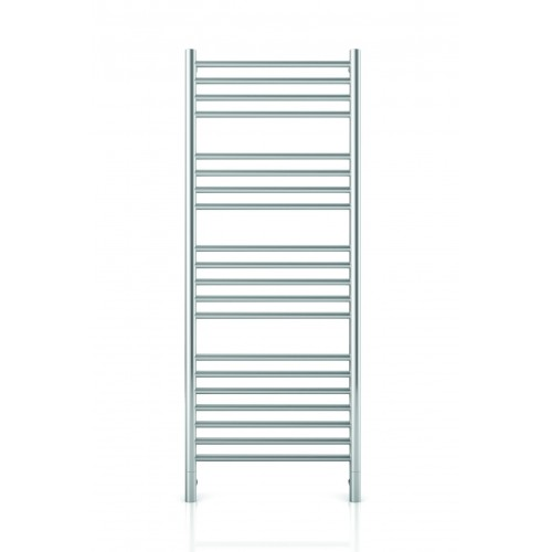 Thermorail Jeeves Brushed Straight Round Ladder Heated Towel Rail