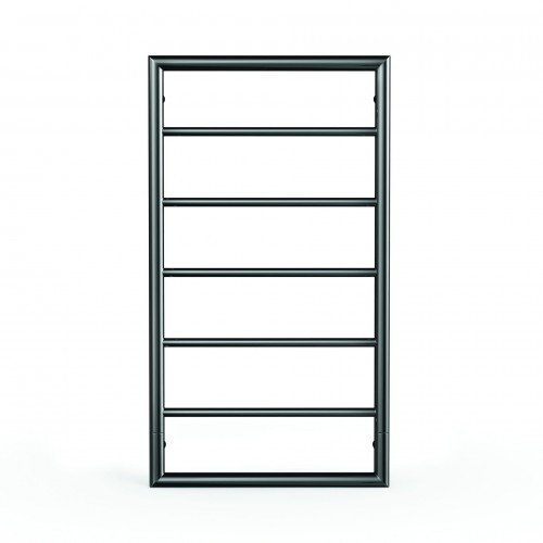 Jeeves Spartan Boxx Heated Towel Rail – Satin Black