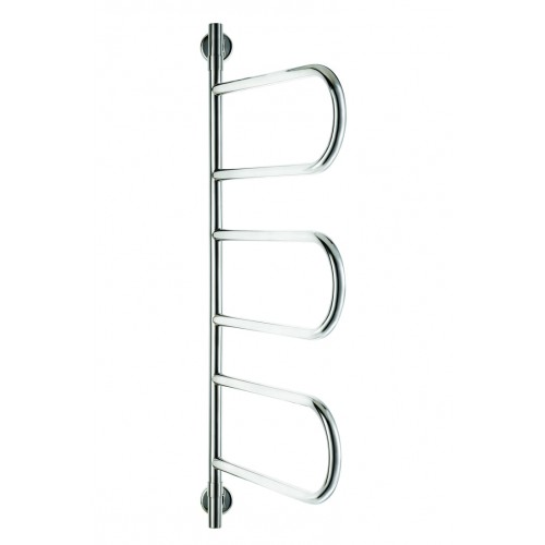 Jeeves Tangent W Swivel Heated Towel Rail