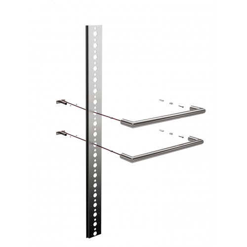 Thermorail Mounting System for Single Bar Towel Rails