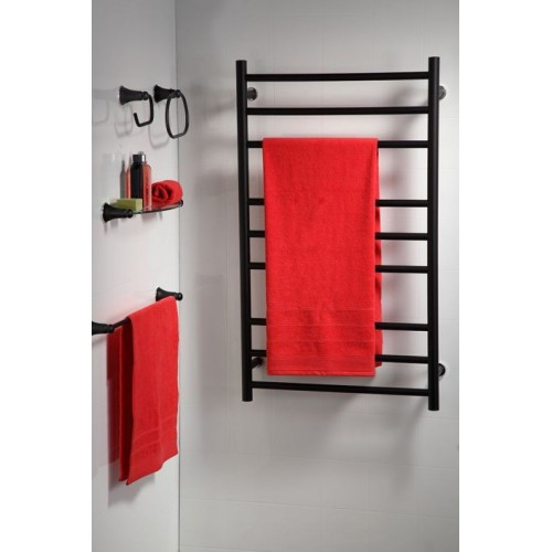 Heirloom Genesis Nero 825 heated towel rail