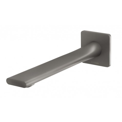 Phoenix Teel Wall Basin Outlet 200mm/Gun Metal