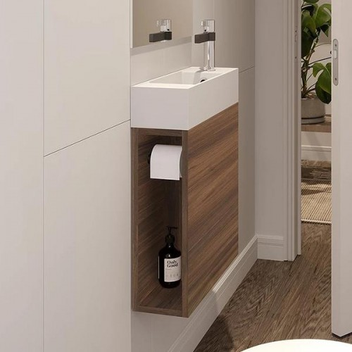 ADP Allie Vanity -Wall Hung / With Kickboard
