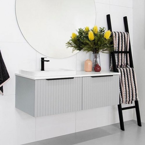 Ashley 1200 Wall Hung Vanity/Offset Bowl