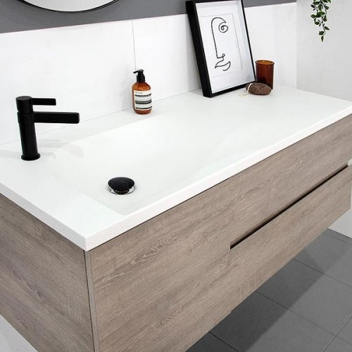 Drift 1200 Wall Hung Vanity/Offset Basin