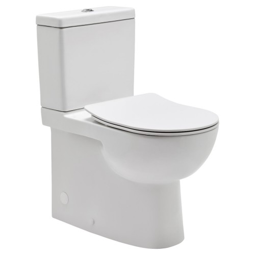 JohnsonSuisse Toledo Xtra Ambulant Rimless Toilet Suite