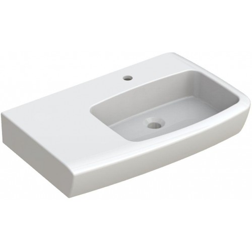JohnsonSuisse Lucca LH Shelf Assist Wall Basin