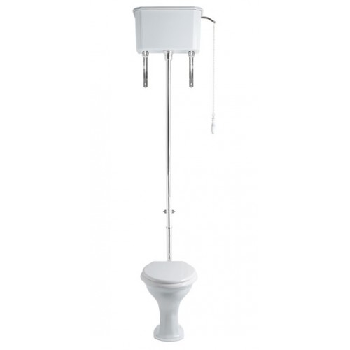 Turner Hastings Birmingham Toilet with High Level Cistern