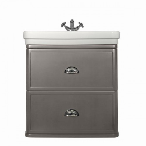 Stafford 62 Wall-Mounted Basin & Vanity/