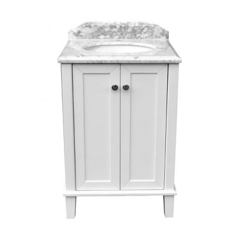 Turner Hastings Coventry 600 Vanity With White Marble Top