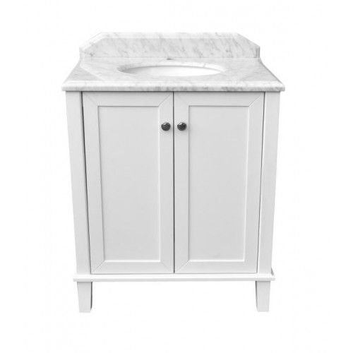 Turner Hastings Coventry 750 Vanity with White Marble Top
