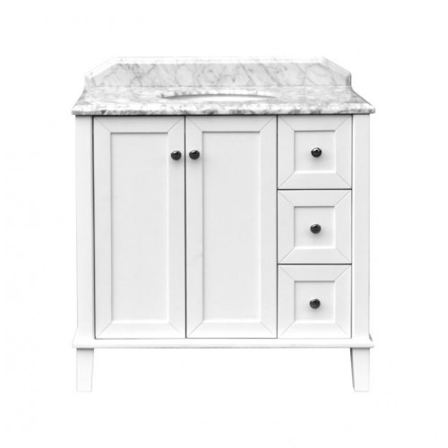 Turner Hastings Coventry 900 Vanity with White Marble Top