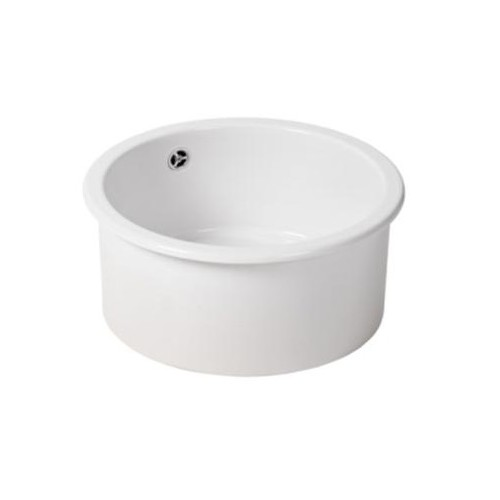 Turner Hastings Valet 38 Round Inset Fine Fireclay Sink