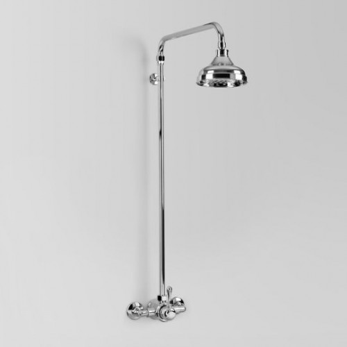 Olde English Signature Collection Exposed Mixer Shower Set/Chrome
