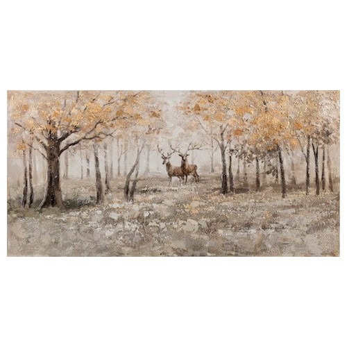 Neutral Glade Canvas Oil Painting
