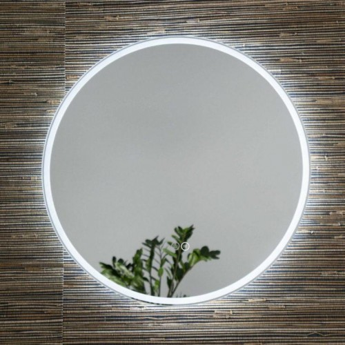 Remer Sphere D Backlit Round Mirror