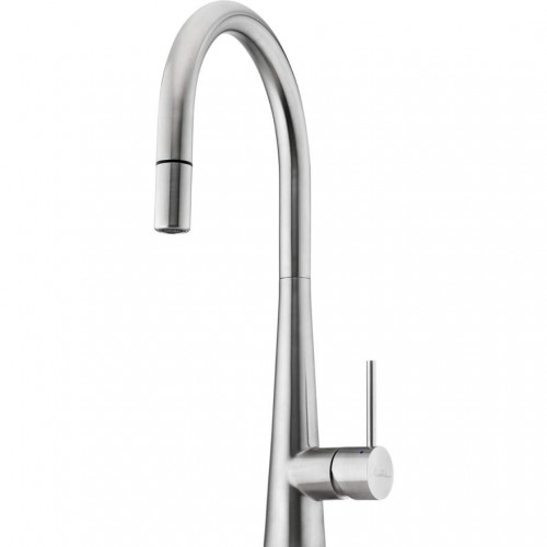 Essente Stainless Steel Goose Neck Pull Out Sink Mixer