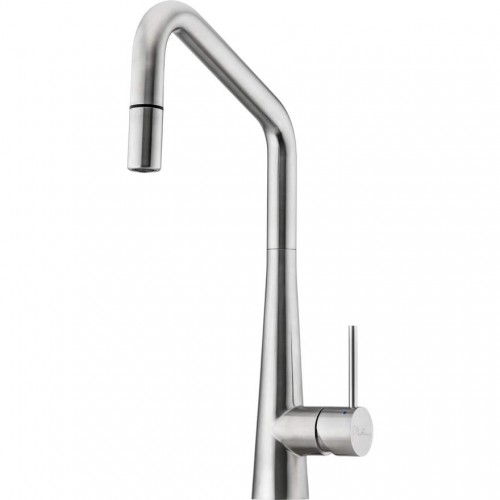 Essente Stainless Steel Square Goose Neck Pull Out  Sink Mixer