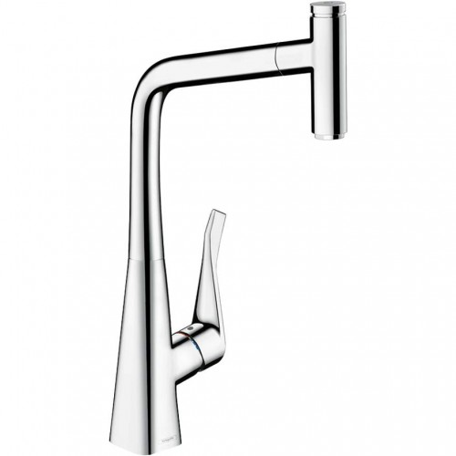 Hansgrohe Metris Select 320 Pull Out Sink Mixer