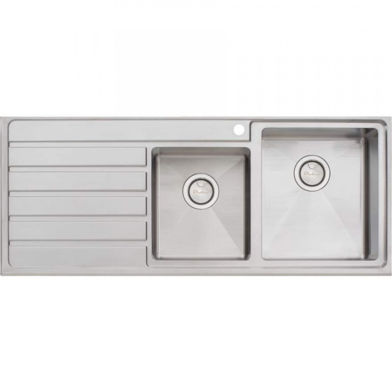 Oliveri Apollo 1 & 3/4 Bowl Sink with Drainer R/H