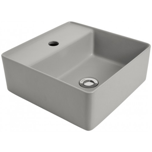 Venezia Ash Square Counter Top Basin/1 Tap Hole