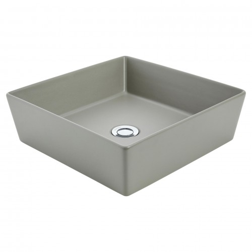 Venezia Square Ash Counter Top Basin/No Taphole