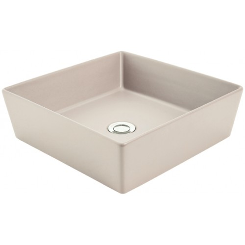 Venezia Square Sand Counter Top Basin/No Taphole