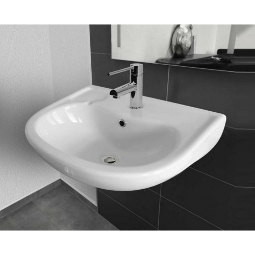 Paco Jaanson Care 500mm Wall Mount Ceramic Washbasin