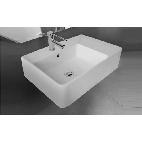 Paco Jaanson Care 615mm Left Hand Bowl Washbasin