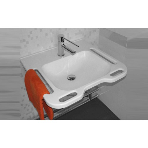 Paco Jaanson Care Solid Surface 600mm Wall Basin