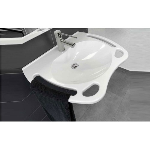 Johnson Suisse Care Solid Surface 700 Wall Basin