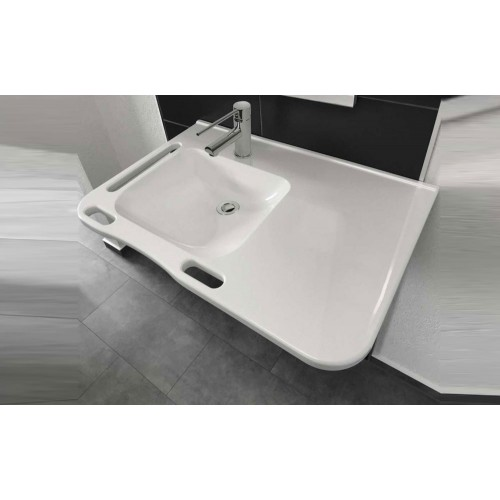 Paco Jaanson Care Solid Surface 802 L Wall Basin