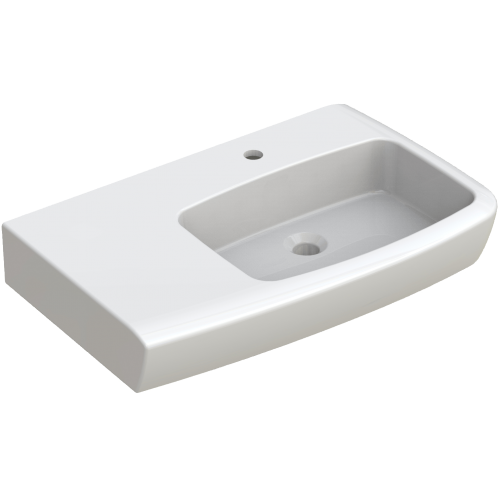 Lucca Shelf LH Wall Hung Basin
