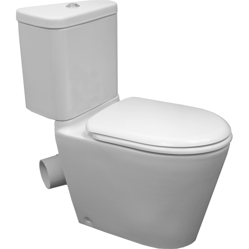 Johnson Suisse Space Solution Corner Skew Toilet Suite