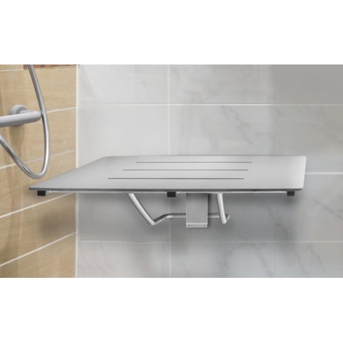 Paco Jaanson Assist Solid Phenolic Folding Shower Seat 960mm