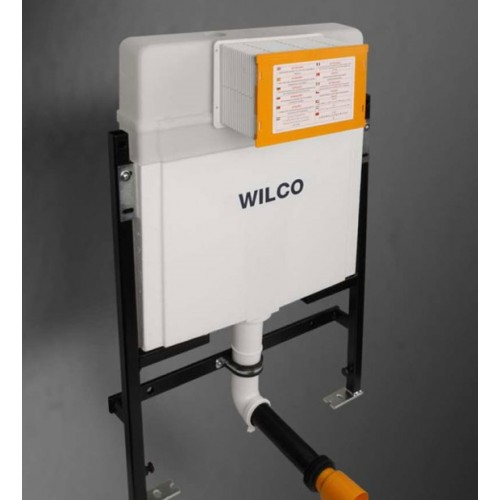 Paco Jaanson Wilco In Wall Cistern with Lite Frame