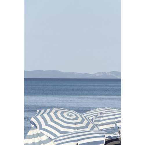 Summer Stripes I Canvas Wall Art/Small