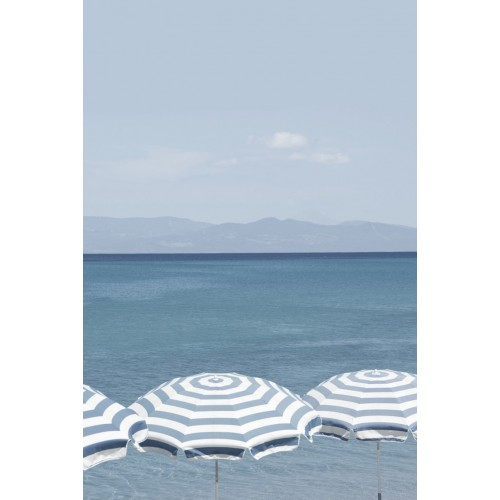 Summer Stripes II Canvas Wall Art/Small