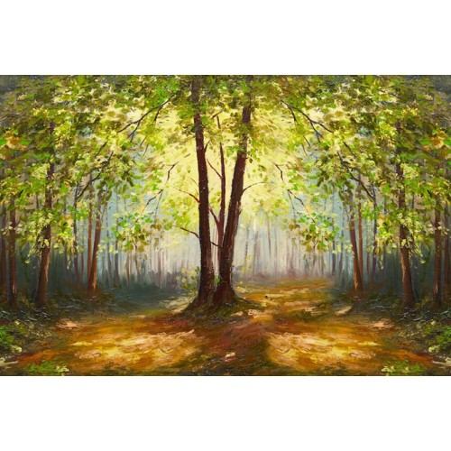 Summer Forest Canvas Wall Art/Large