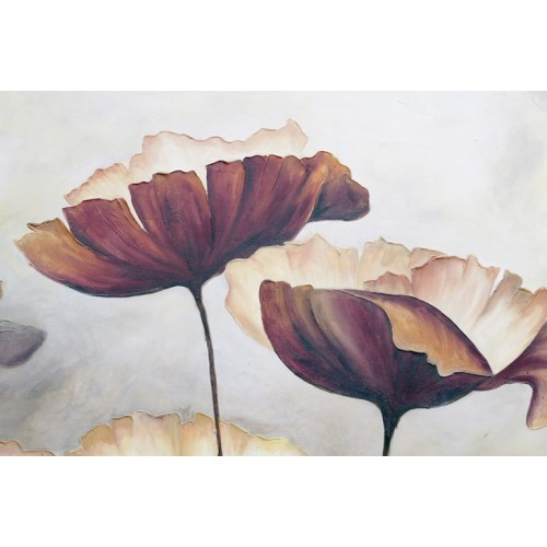Poppies Oppulent Canvas Wall Art/Small