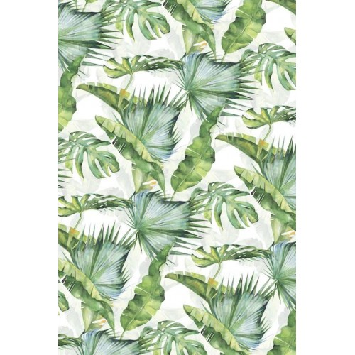 Jungle Tropics II Canvas Wall Art/Large