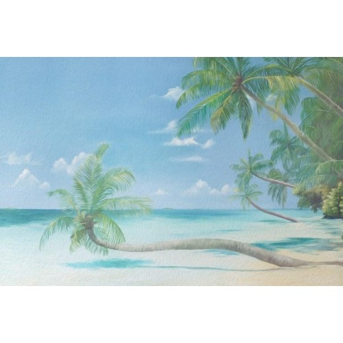 Caribbean Coast Canvas Wall Art/Small