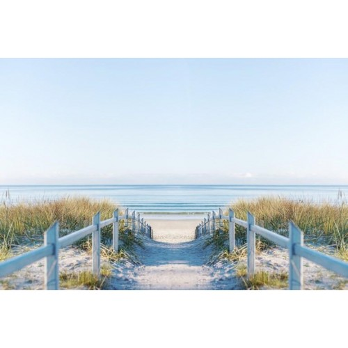 Beach Pathway Canvas Wall Art/Large