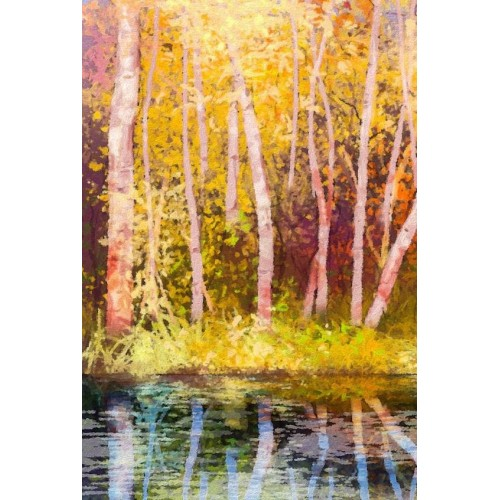 Aspen Colour I Canvas Wall Art/Large