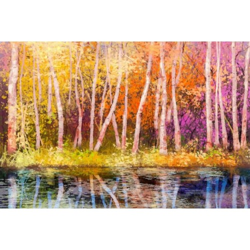 Aspen Colour III Canvas Wall Art/Large