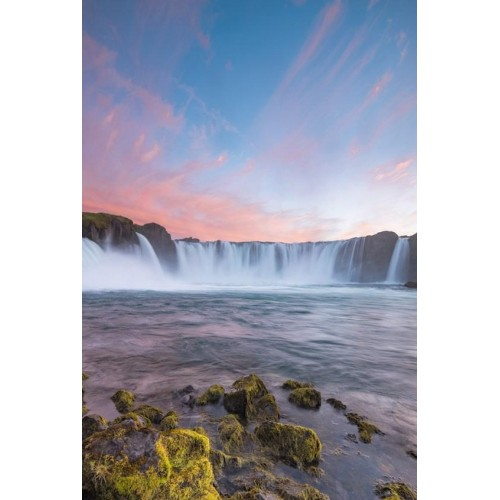 Cascading Waters Canvas Wall Art/Large