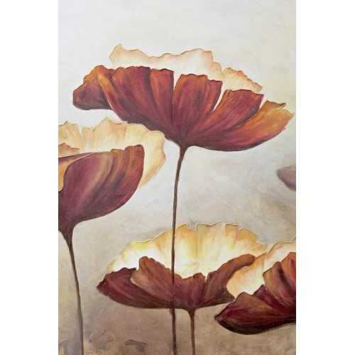 Poppies Luxe I Canvas Wall Art/Small
