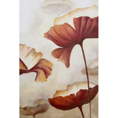 Poppies Luxe II Canvas Wall Art/Small