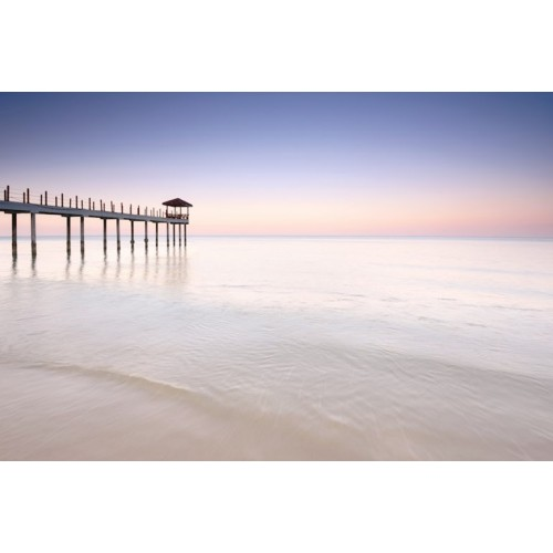 Long Jetty Canvas Wall Art/Large